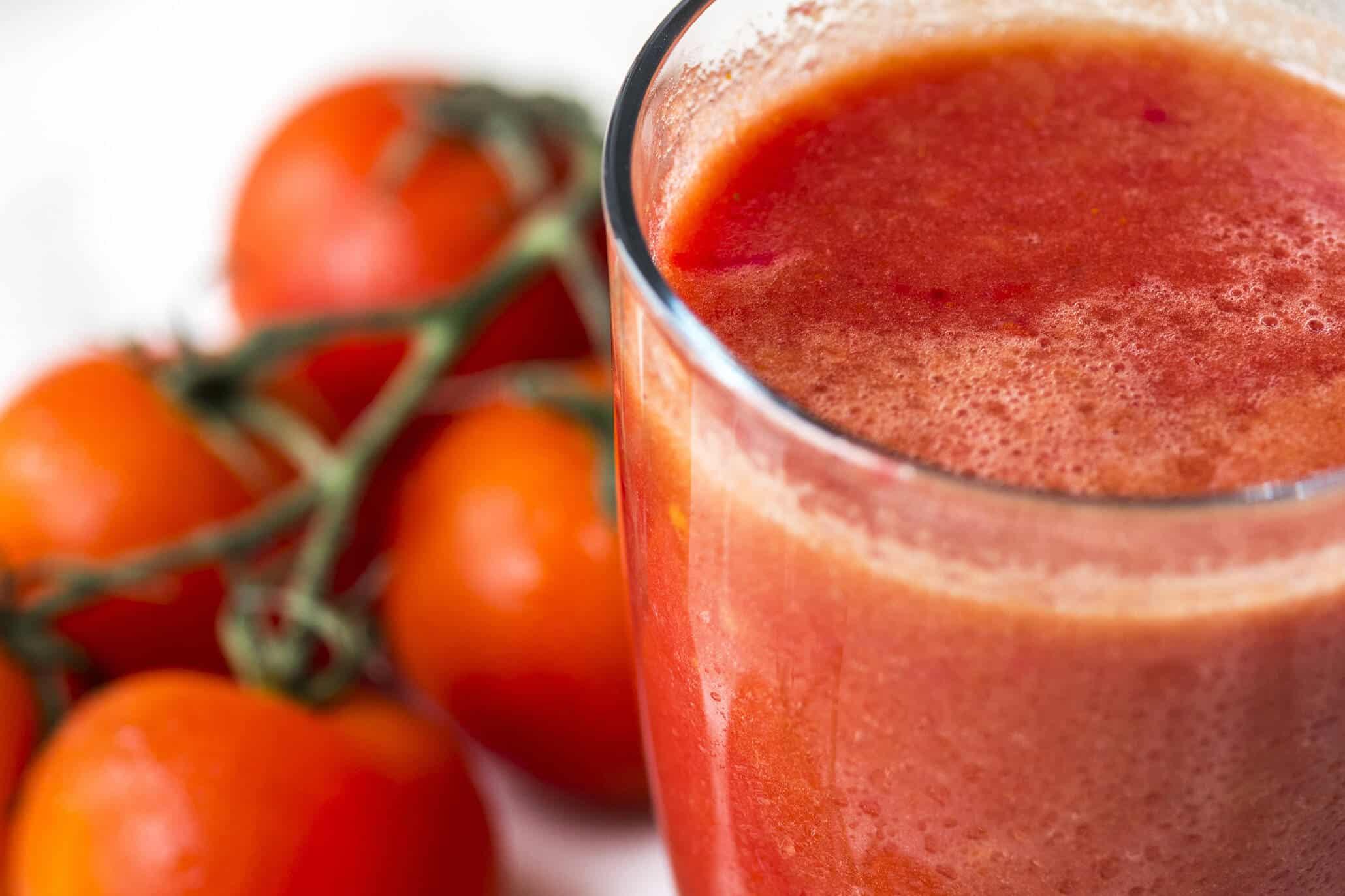 Tomatensaft ist gesund