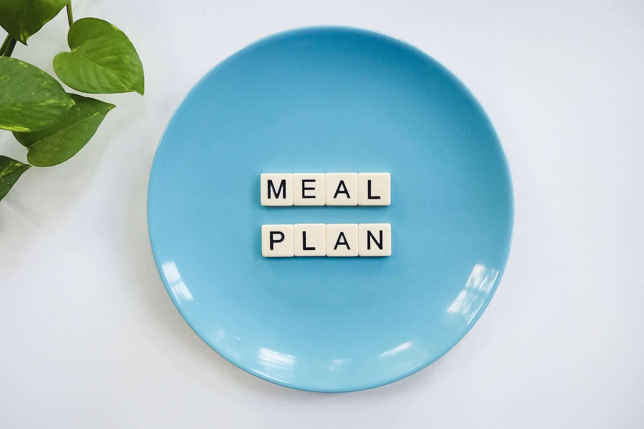 Abnehmen mit Plan