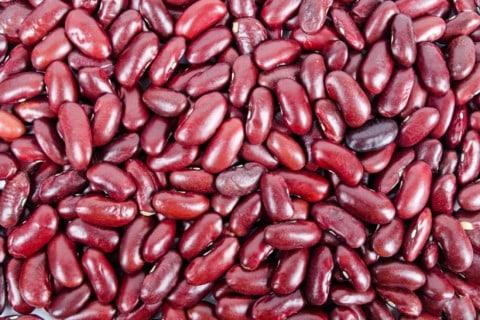 Rote Bohnen in Chili con Carne