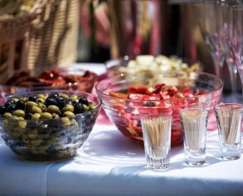Oliven als Snack