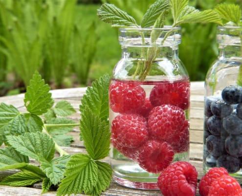 Gesunde Ernährung mit Vitaminen