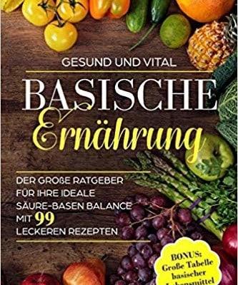 Buch über basische Ernährung