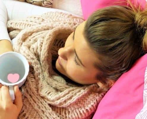 Hausmittel gegen Fieber, Erkältungen und Grippe