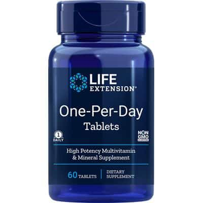 One per Day Multivitamin von Lifeextension Europe