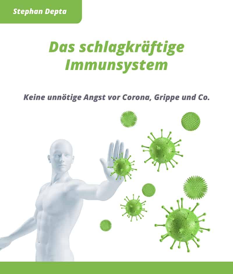 Das schlagkräftige Immunsystem von Stephan Depta - Cover