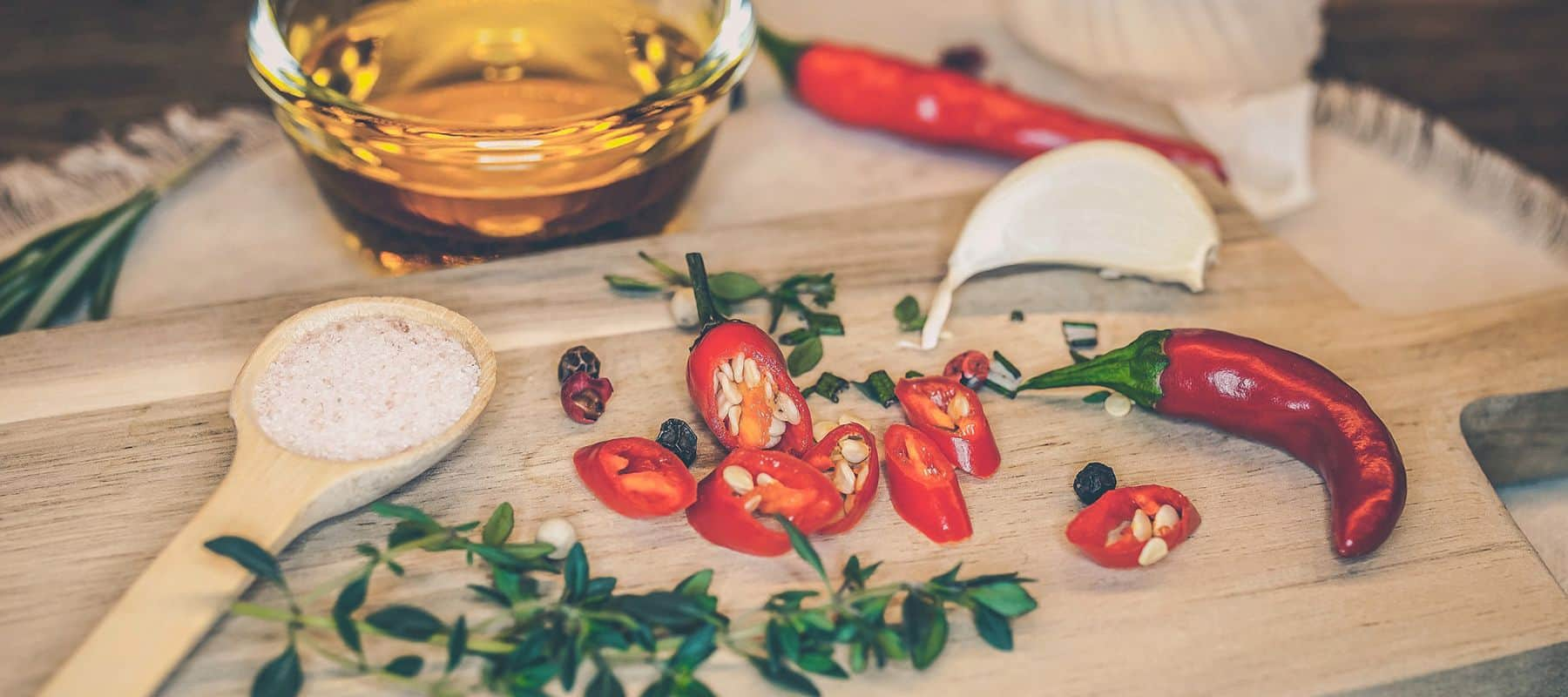 Chili Pulver & Saucen